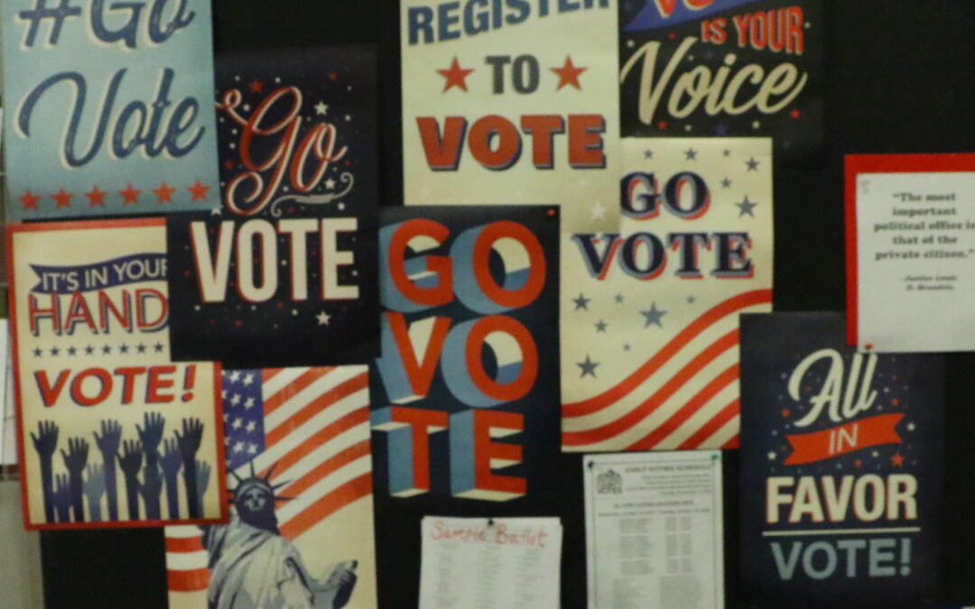 Lipscomb students preach the importance of voting