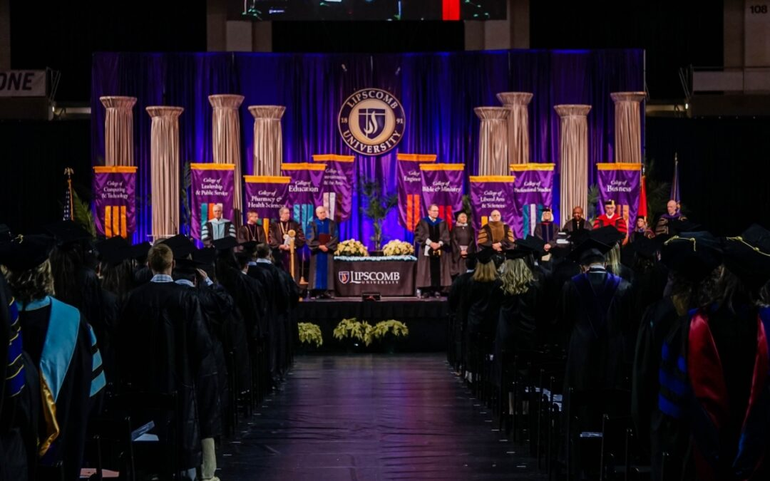 Lipscomb kept track of COVID surge when they still planned in-person graduation