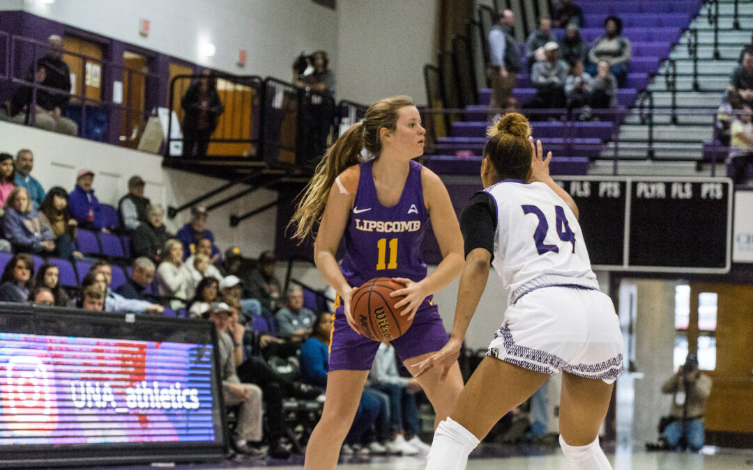 Lady Bisons finish season sweep over Bellarmine to stay perfect at home
