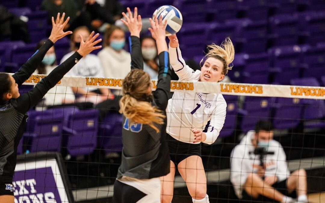Lady Bisons volleyball returns to Allen Arena with 3-1 victory over MTSU