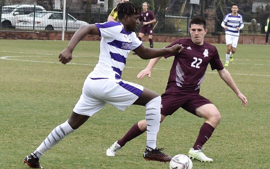 Lipscomb men's soccer falls in ASUN opener against Bellarmine