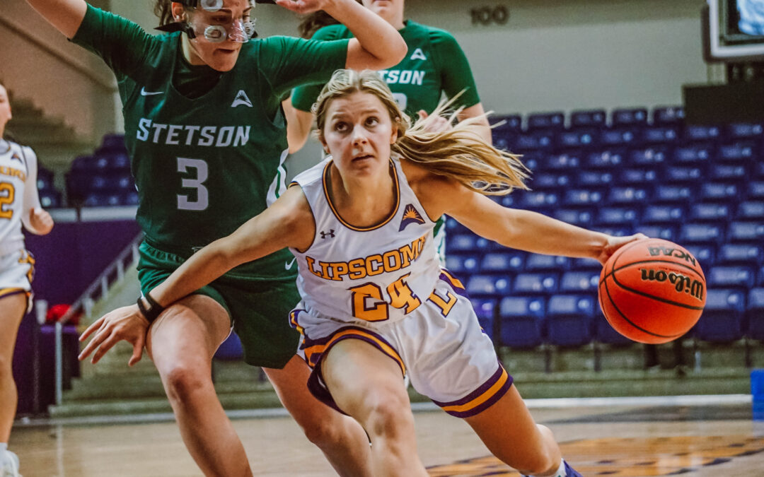 Women's basketball beats Stetson, sweeps the Hatters for the first time since 2007