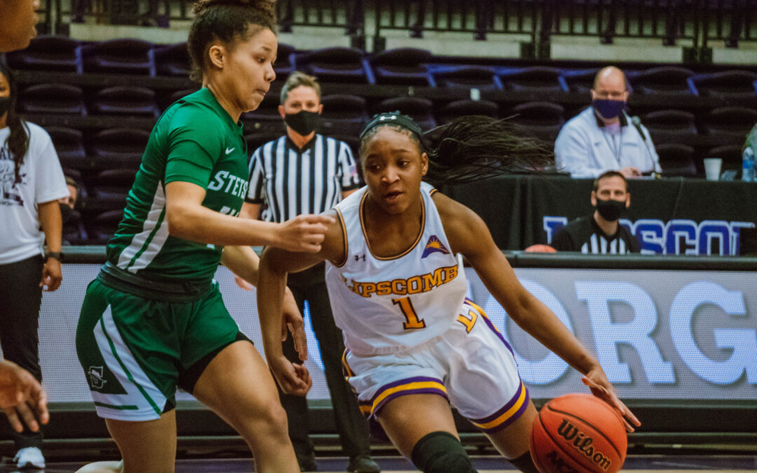 Lady Bisons Basketball undefeated at home after defeating Stetson 58-54