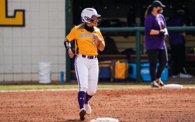 Softball gets shutout, swept by Liberty in makeup series