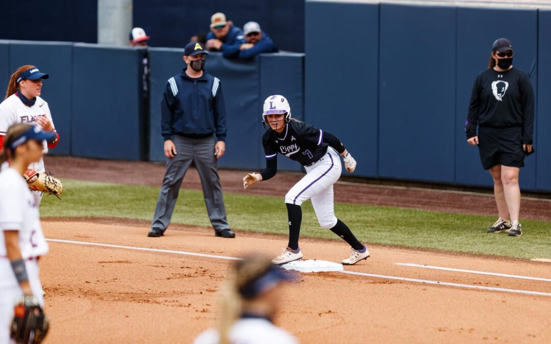 Lady Bisons softball season ends with tournament loss to top-ranked Liberty Flames