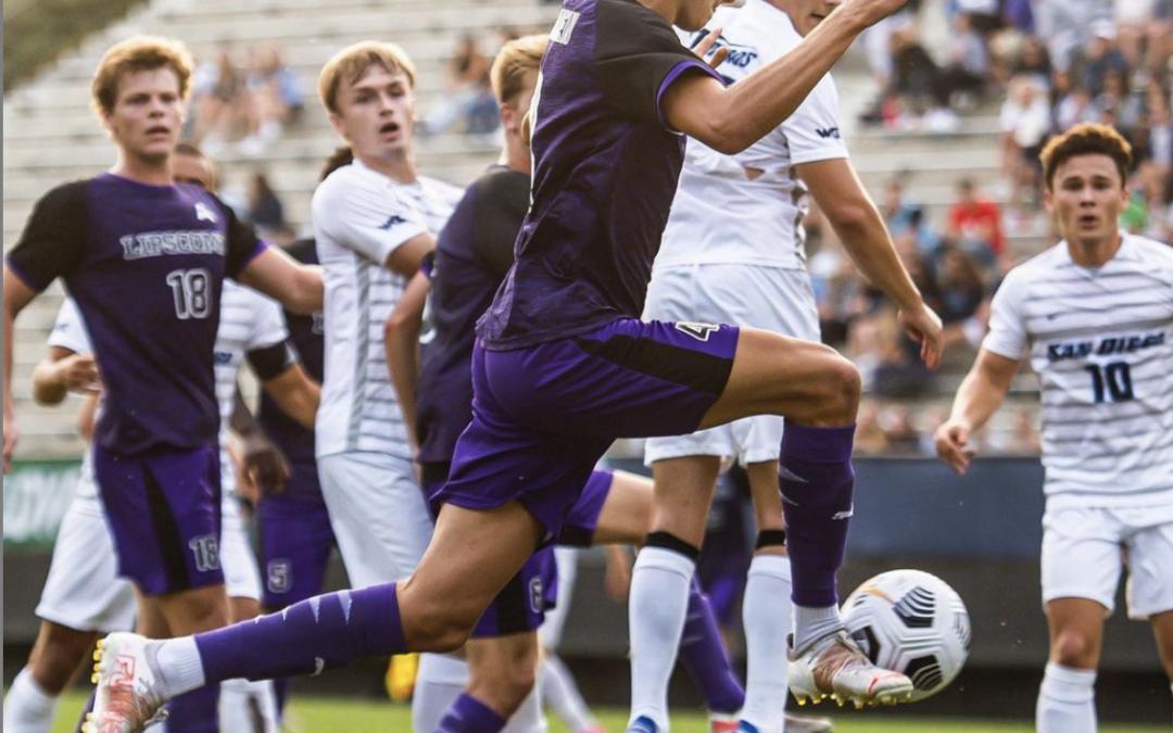 Men's soccer earns Top 25 ranking after dream weekend