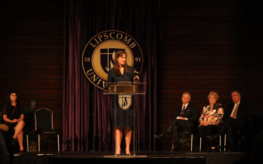 Candice McQueen returns to her roots to be Lipscomb's 18th president