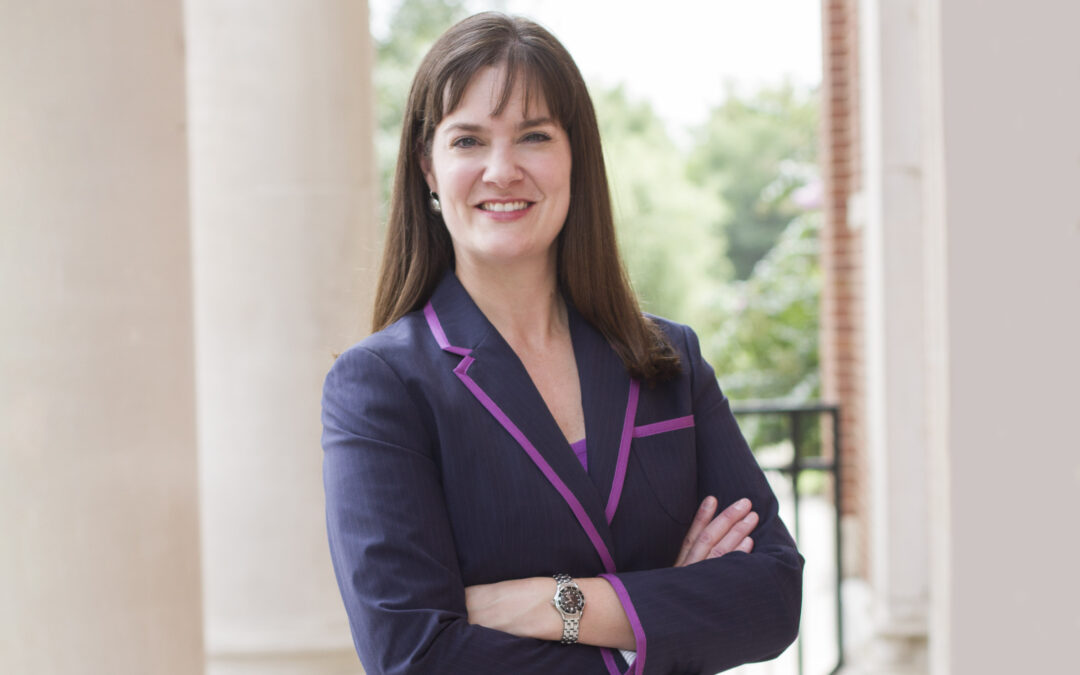 Candice McQueen speaks on her goals as she prepares to take over as Lipscomb president