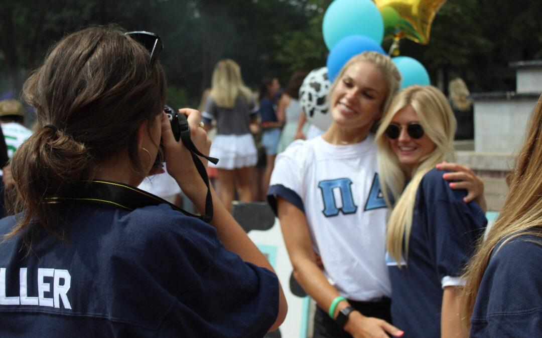 Gallery: Greek Life kicks off semester with rush fair
