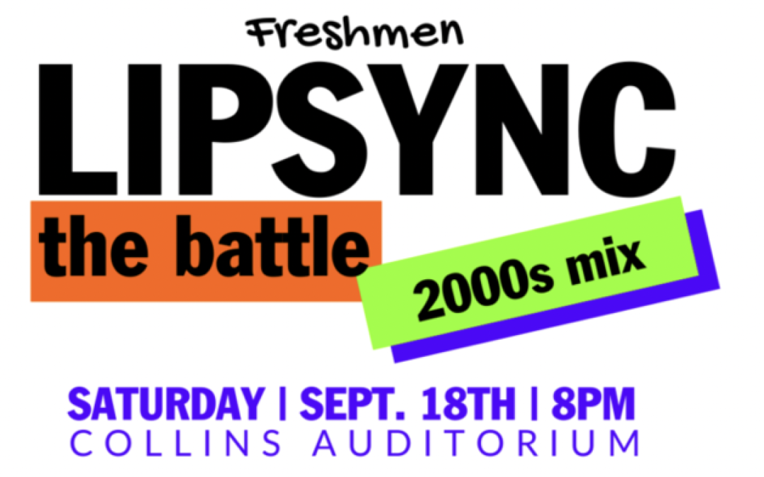 Freshmen Lipsync Battle celebrates new students and the songs from their childhood