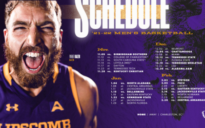 Men's basketball releases 2021-22 slate
