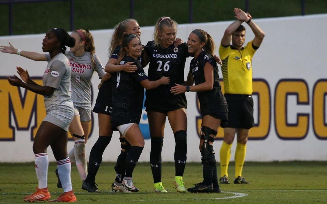 Women's soccer soars past Jacksonville State