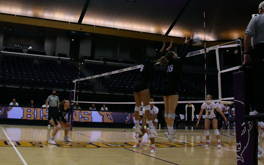 Volleyball bests new ASUN rivals, grabs 5th straight win