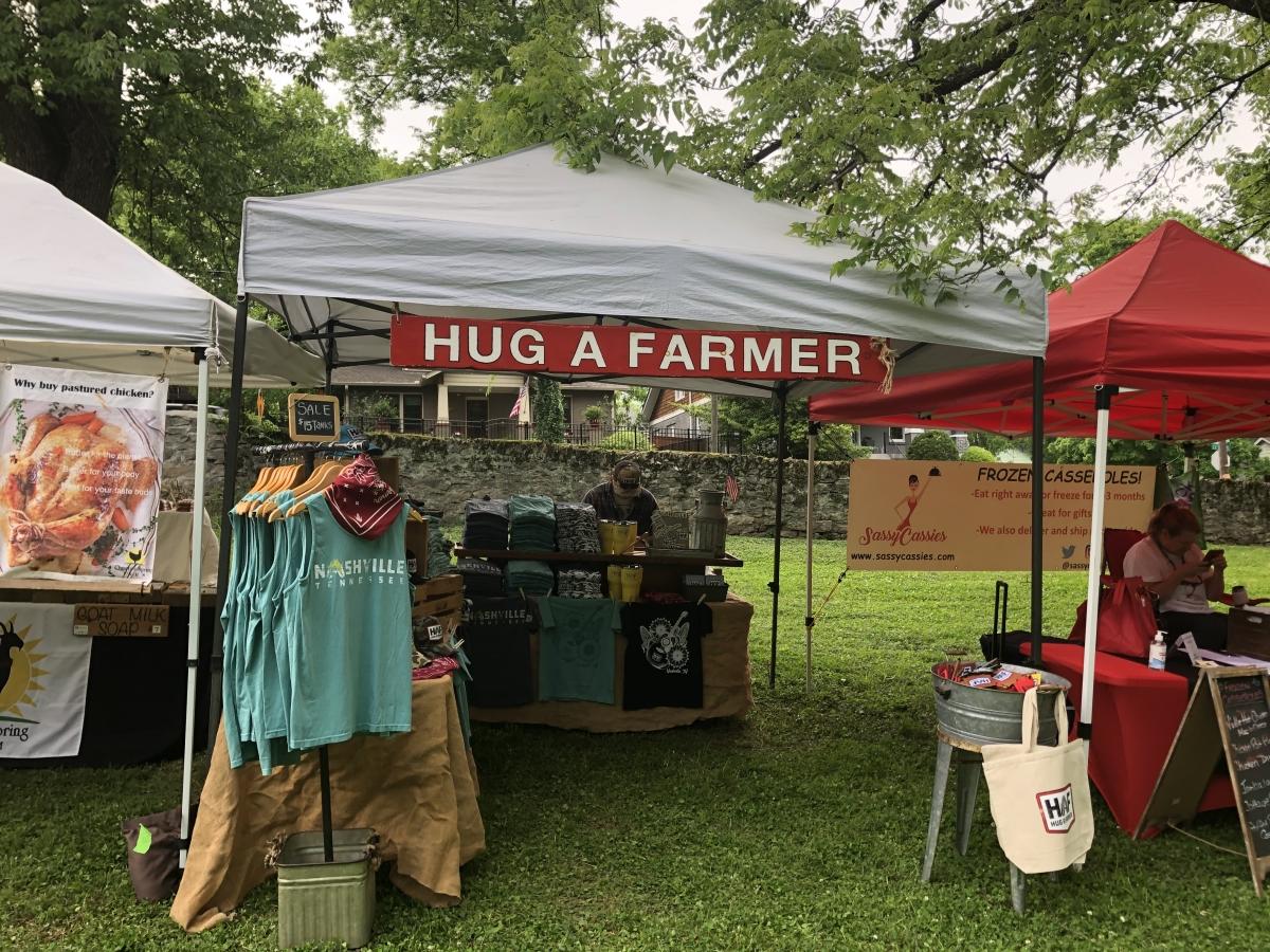 HC hug a farmer